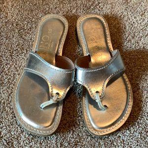 KINO Silver Sandals
